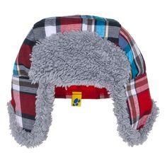 Build-A-Bear Workshop-United Kingdom: Tartan Nordic Hat - fun funky hat for our dog and moose. Red Plaid, Tartan, Custom Teddy Bear, Build A Bear Outfits, Funky Hats, Baby Boy Accessories, Kid Picks, Online Gift Shop, Animal Ears