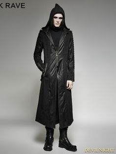 Trench Jackets & Coats Buy Cheap Custom Mens New Steampunk Vision Gothic Jacket Long Slim Fit Wool Tunic Trench Stage Performance Coat Banquet Party Clothing