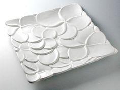 jenggala keramik bali frangipani plate