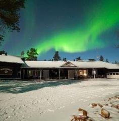 Muotka #Finland #NorthernLights #Winter #Lapland #Travel #wanderlust