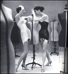 Corselettes by Warners, 1950
