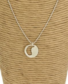 Sterling Silver Yin Yang Necklace  $36