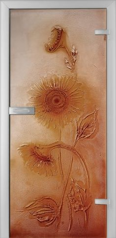 Fused Glass Doors - Girasole 02