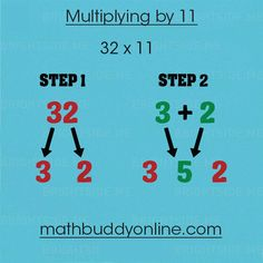 Multiplying by 11