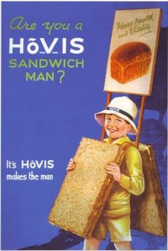 Vintage Hovis Bread Advertising A3 Poster Reprint | eBay