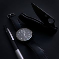 """submitted by Inchik AdamSpyderco Para 3 LightweightTissot WatchLAMY accent""""You can wear black at any time. You can wear it at any age. You may wear it for almost any occasion."""" — Christian Dior"""