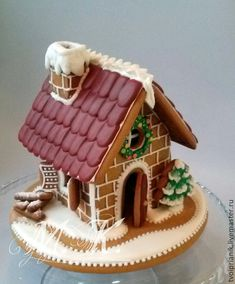 Gingerbread House Designs, Gingerbread House Parties, Gingerbread Decorations, Christmas Gingerbread House, Christmas Mood, Gingerbread Houses, Easy Christmas Crafts, Christmas Desserts, Christmas Baking