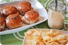Rebuen sliders - perfect St. Patty's Day/NCAA Basketball-watching food. Looks like this is what's for dinner!