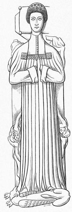 Unknown Kingskerswel Woman (1380)