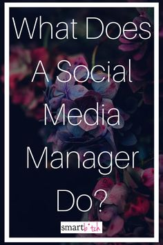 Social Media Manager Job Description A Complete Guide  Kruse