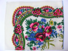 Actually designed by a Rromani woman! Hijab Fashion, Fashion Dresses, Hand Sewn, I Tattoo, Stretches, Shawl, Gypsy, Weave, Floral Design