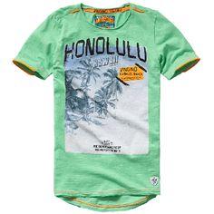 Vingino® boys T-shirt Halburt Opal Green