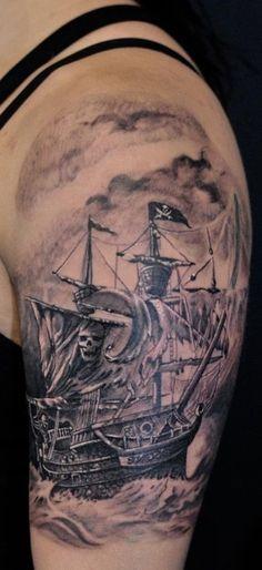 Pirate Ship Ink #ShipInk