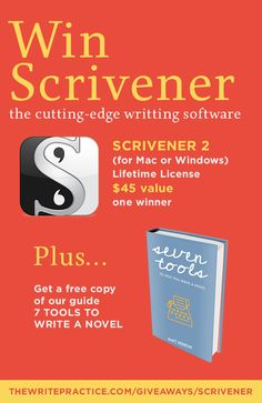 Win Scrivener, the Cutting-Edge Writing Software