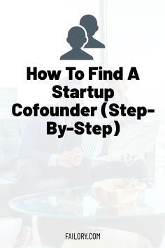We've recently published a long & detailed article talking about the topic: Startup Cofounder. You MUST read it if you're an entrepreneur. Make Business, Growing Your Business, Business Planning, Business Development Plan, Achieve Success, Co Founder, How To Better Yourself, Going To Work, Introvert