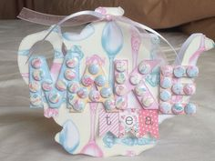 CWC Afternoon Tea papers, Candi and tea pot template by Jo Street