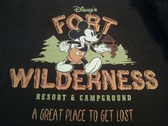 My Fort Wilderness T-shirt.
