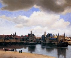 Johannes Vermeer - View on the Dutch city of Delft (1659)