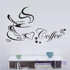 Afbeeldingsresultaat voor muurstickers keuken koffie