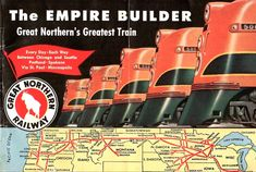 Train Posters, Railway Posters, Great Northern Railroad, First Class Hotel, Day And Nite, Aviation Training, Train Art, Best Travel Guides