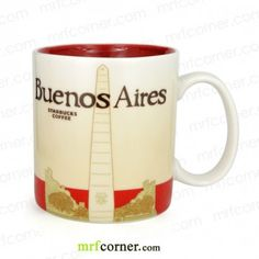 SM072 16oz Starbucks Argentina Buenos Aires Global Icon Series City Mug