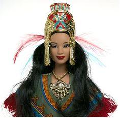 Ancient Aztec Women Clothing | Barbie Doll Resource | Barbie Buying Guide | Barbie Corner: August ...
