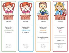 Primary Assignment Cards for talks, prayers, and scripture.