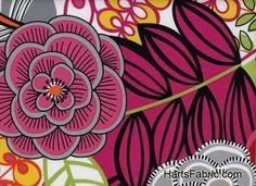 Alexander Henry Folklorico Garden Fabric Bright