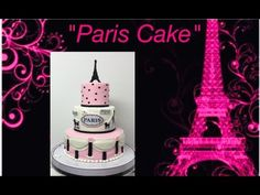 "On this channel we'll learn all things ""Sweet Treats"" from baking,fondant,decorating cakes,business side of the baking business,candy apples. Paris Themed Cakes, Paris Cakes, Baking Business, Cake Business, Theme Parties, Party Themes, Cake Youtube, Candy Apples, Are You Happy"