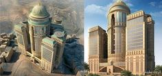 By the World's largest hotel will open in Makkah, Kingdom of Saudi Arabia. The construction of the Abraj Kudaj hotel is expected to be completed in 2017 with a total built area of Most Luxurious Hotels, Best Hotels, Luxury Hotels, Mecca Hotel, Hotel World, Construction, Saudi Arabia, Luxury Travel, Worlds Largest