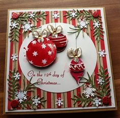 1207 best handmade christmas cards images on pinterest christmas e