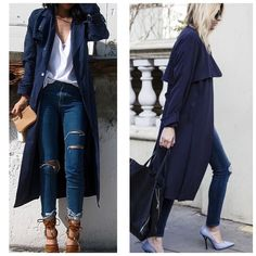 """NWT NAVY BLUE TRENCH New with tags navy blue light weight trench coat. Perfect for spring 100% polyester. Size small fits true to size. 33"""" long   NOT ZARA!!! BOUTIQUE BRAND Zara Jackets & Coats Trench Coats"""