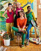 Värikkäitä taiteilijoita –