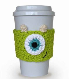 This Mike Wazowski coffee cozy. And 22 other Disney kitchen themed items I need!