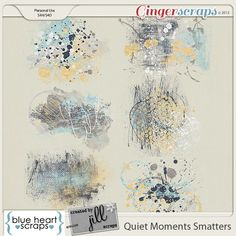 New Collab Release; Quiet Moments with @Blue Heart Scraps Individual Packs are on Sale 25% off through Friday 18th and the Bundle is 60% off! Quiet Moments Smatters; http://store.gingerscraps.net/Quiet-Moments-Collab-Smatters.html. 11/10/2013