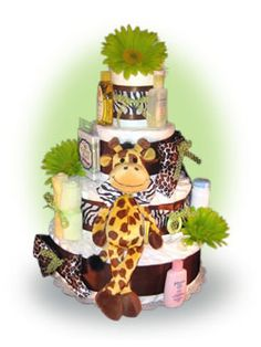 Our 4 Tier Safari Diaper Cake is designed and built from scratch around the popular safari theme. This safari diaper cake or the giraffe diaper cake design makes an ideal baby gift for either baby boys or girls. Baby Shower Diapers, Baby Boy Shower, Baby Shower Gifts, Baby Gifts, Baby Showers, Safari Diaper Cakes, Diaper Cake Boy, Couches, Safari Theme