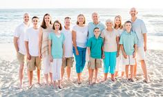 Our family and extended family on my hubby's side for our California vacation, summer 2014.