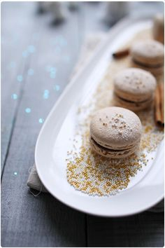 Macarons chocolat cannelle