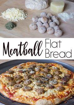 Not only is this meatball flat bread recipe super easy to make (great for weeknight dinners!) your family will actually be begging you to make it again! The garlicky sauce and the meatballs are the perfect combination!