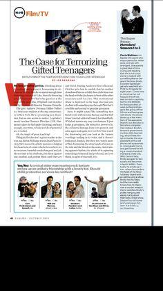 Esquire magazine editorial design
