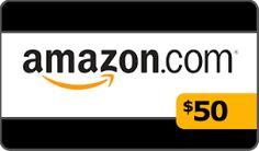 $50 Amazon Gift Card Giveaway! https://wn.nr/32w5n2 #sweeps
