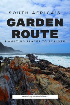 5 Amazing places to explore on the Garden Route / Südarfika Roadtrip Ideen Africa Destinations, Travel Destinations, Travel Advice, Travel Guides, Travel Tips, Travel Hacks, Travel Packing, Cool Places To Visit, Places To Go