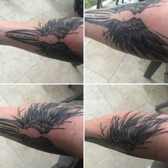 """Valkyrie design with """"time we haven't"""" quote in sketch style reaching around the forearm."""