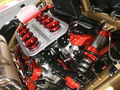 2011 ariel atom v8 engine view