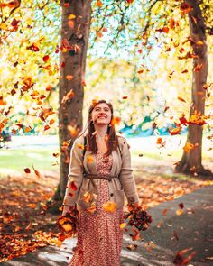 Let it Fall! Dresses With Sleeves, Fall, Long Sleeve, Fashion, Autumn, Moda, Full Sleeves, Fashion Styles, Gowns With Sleeves