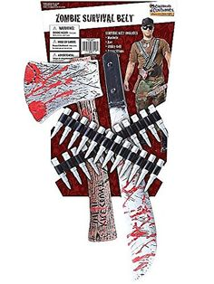 Black Friday Deal Zombie Hunter Costume Accessory Kit from California Costumes Cyber Monday