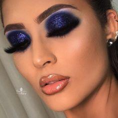 gorgeous makeup easy - Wedding Makeup / gorgeous makeup for brown eyes Eye Makeup Glitter, Golden Eye Makeup, Smoky Eye Makeup, Dark Makeup, Glam Makeup, Makeup Geek, Eyeshadow Makeup, Runway Makeup, Eyeshadows