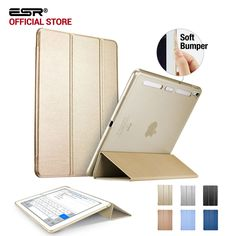 Case for iPad Pro 9.7 inch, ESR Magnetic Auto Wake soft Corner color Smart Cover Trifold Stand Tablet Case for iPad Pro 9.7 inch