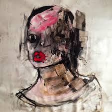 Αποτέλεσμα εικόνας για Khara Oxier paintings Various Artists, New Artists, Doodle Books, Outsider Art, Artsy, Nudes, Masters, Portraits, Paintings
