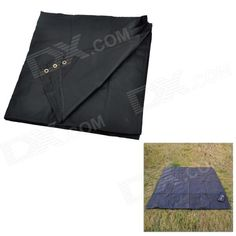 Model: XQQ-FCD-19; Quantity: 1; Color: Black; Material: Nylon; Functions: Great for foundation protection and damp-proof of tent; Best use: Camping; Certification: With 4 installation holes, great for outdoor picnic on the floor; Packing List: 1 x Rainproof footprint; http://j.mp/1ljLzF4